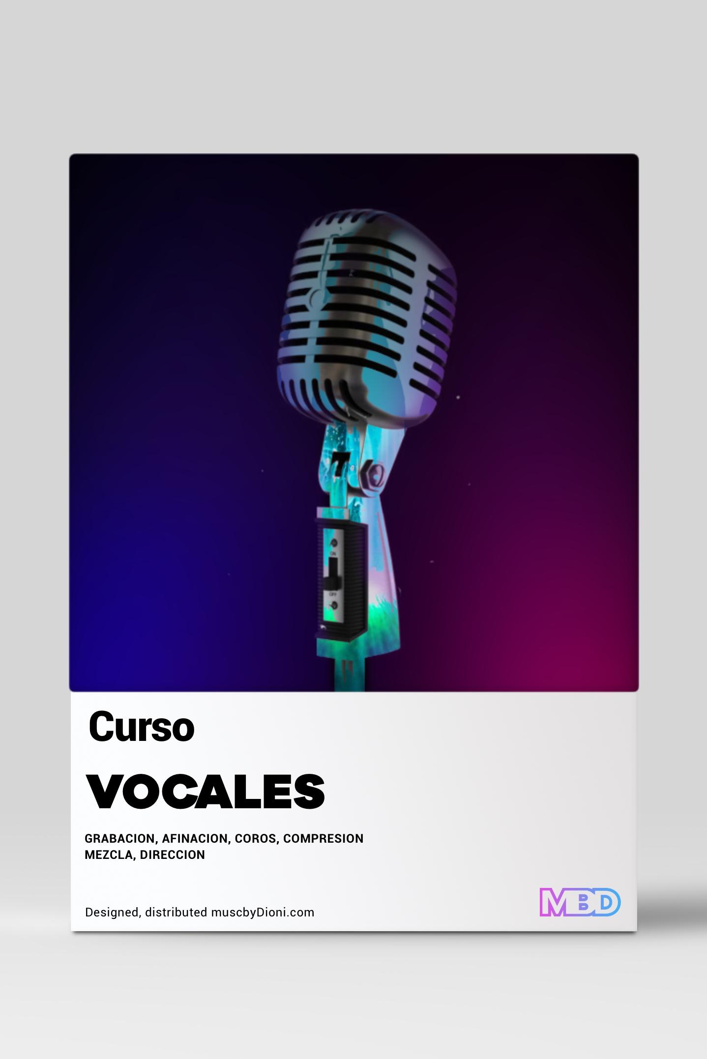 Curso Vocales